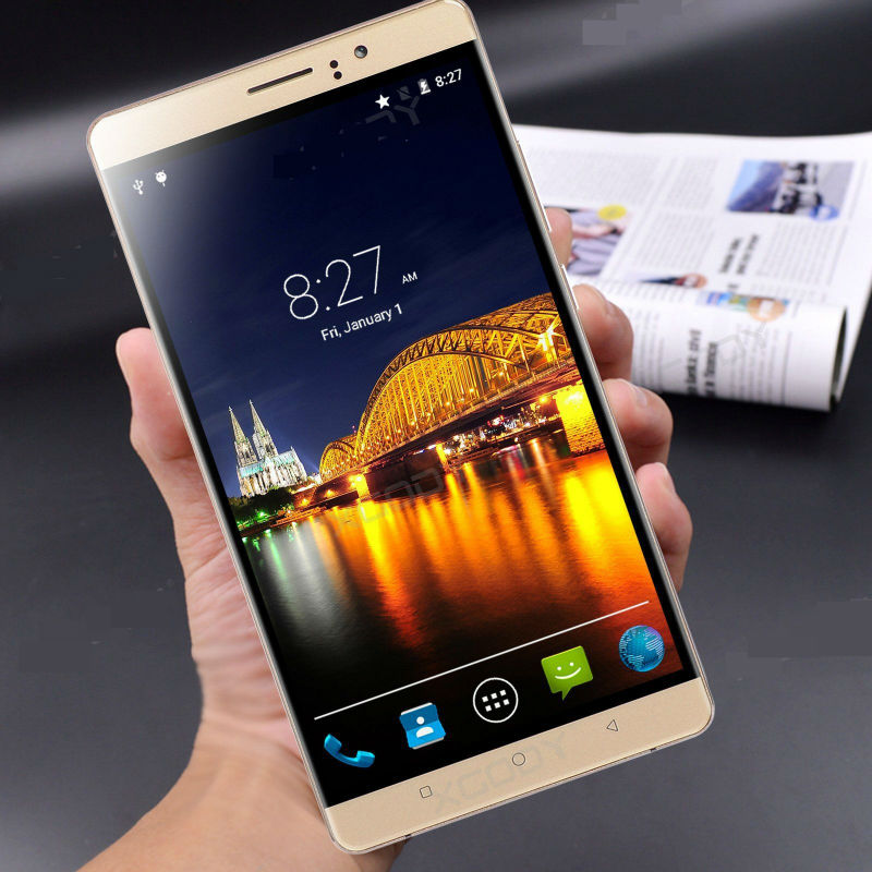 XGODY 6 Inch Phone RAM 512MB ROM 4GB Quad Core Smartphone Android 5 1 2SIM T