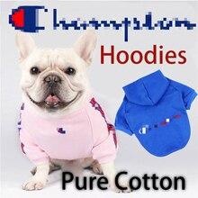 French Bulldog Clothes Dog Hoodie Adidog Warm Sport Retro Dog Hoodies Pet Clothes Puppy Dog Pugs Puppy Clothes Chihuahua oem adidog