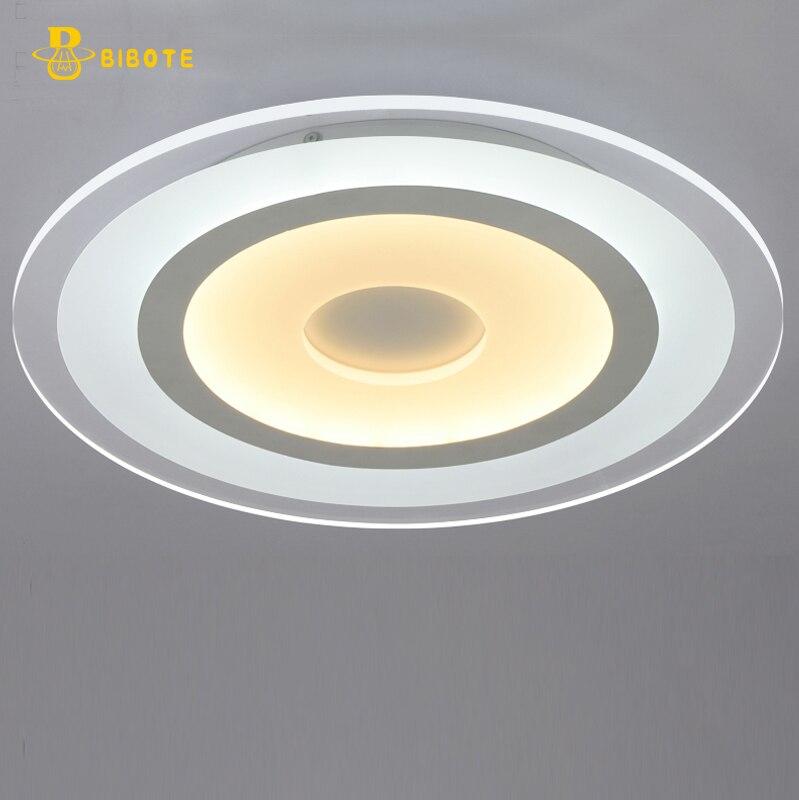 Super-thin circular  Ceiling chandelier lights indoor lighting led luminaria abajur modern led ceiling chandelier free shipping