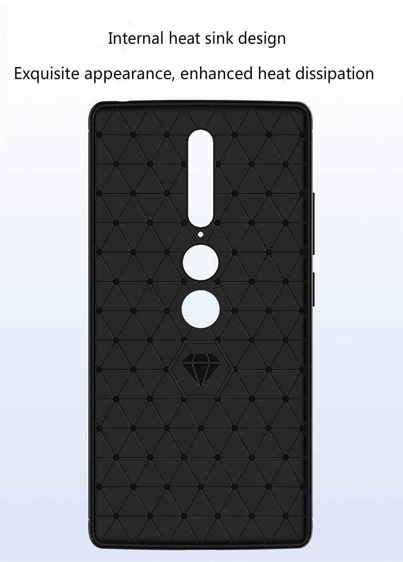 لينوفو Phab 2 برو حالة نحى ألياف الكربون المضادة للسقوط سيليكون جراب هاتف لينوفو Phab 2 زائد Pb2-690m 670 متر لينة قذيفة