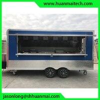 Food Truck Enclosed Concession Trailer Mobile Kitchen