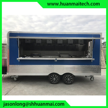 Food Truck Enclosed Concession Trailer Mobile Kitchen