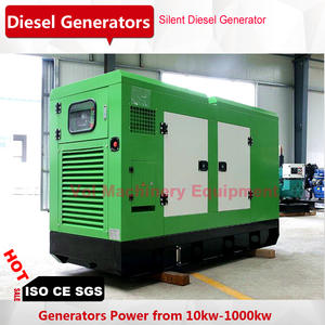 Chinese-Generator Soundproof 50kw for Farm/school-Application 60kva Cheap-Price