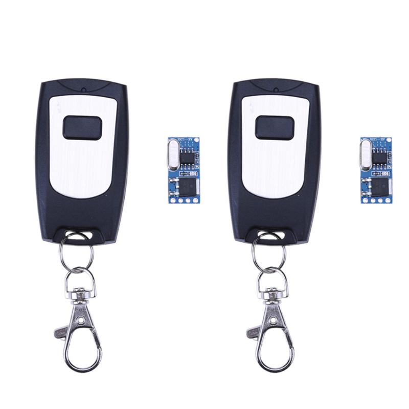 DC 5V/12/18V Micro Remote Control Switch Wall Light Switch Accessaries LED Power 433MHz Telecomando Transmitter with Receiver