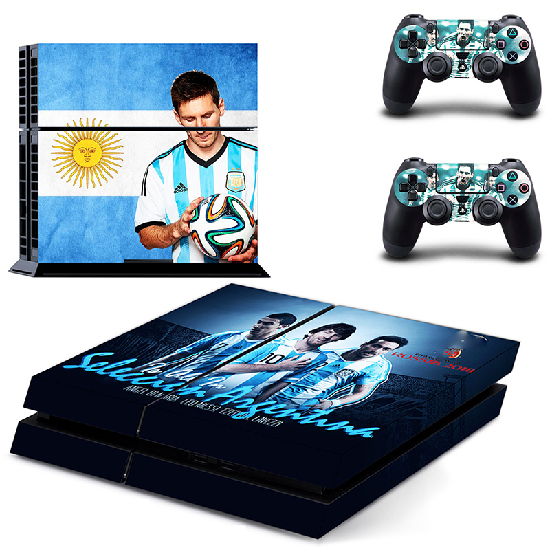 Image 5 - HOMEREALLY Stickers 2018 RU world cup PS4 Skin Cover For Sony PlayStation 4 Console and Controller Skin Ps4 Accessory Sticker-in Stickers from Consumer Electronics