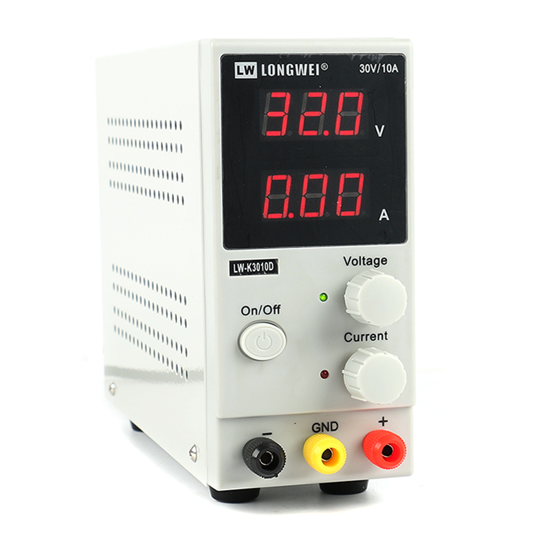 Image 2 - Upgrade LW 3010D 30V 10A Mini Adjustable Digital DC Power Supply Laboratory Switching Power Supply 110V 220V EU/AU/US Plug-in Switching Power Supply from Home Improvement