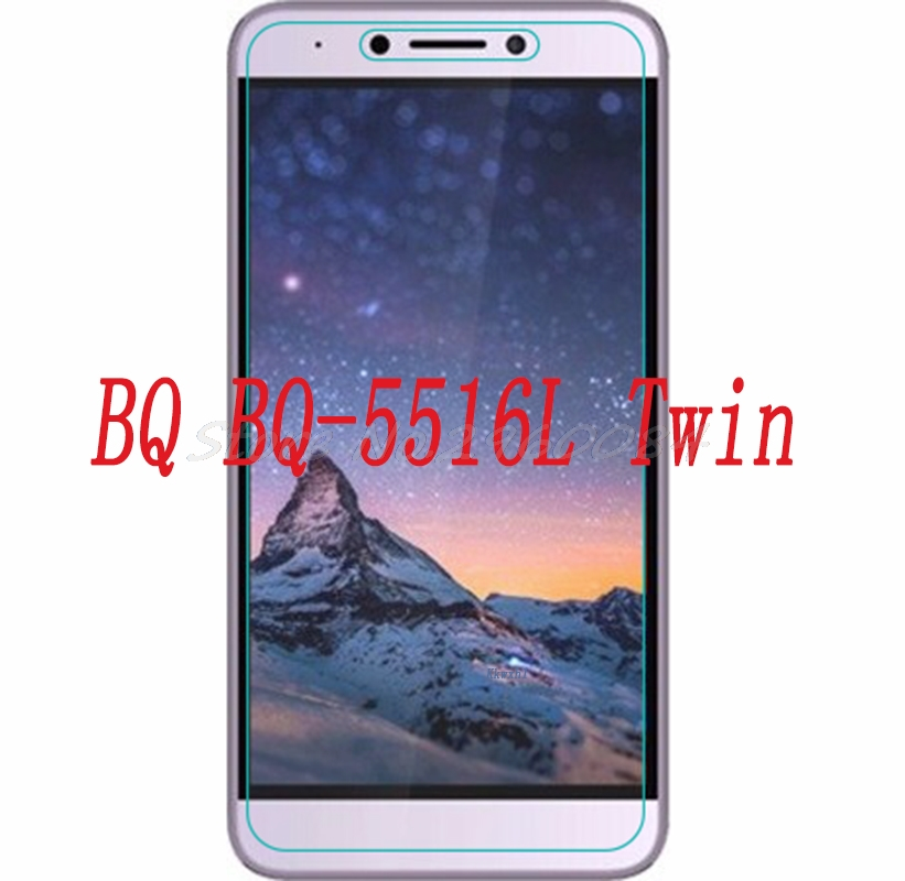 Smartphone Tempered Glass  for BQ BQ-5516L Twin 5516 Explosion-proof Protective Film Screen Protector cover phone