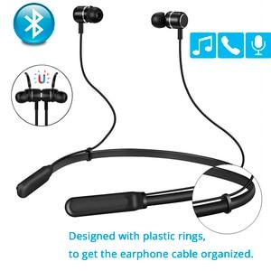 Image 2 - Bluetooth наушники, беспроводная гарнитура для телефона, компьютера с микрофоном, Спортивная гарнитура громкой связи для iPhone, Xiaomi, Sony, игровая гарнитура