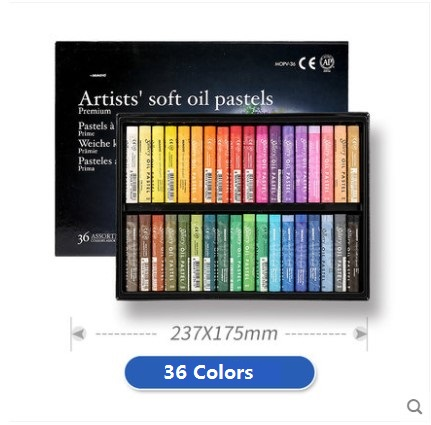 MUNGYO Mopv 12/24/36/48/72 colors series Gallery Artists soft OIL pastels ART drawing paint 1pc hot sale 100