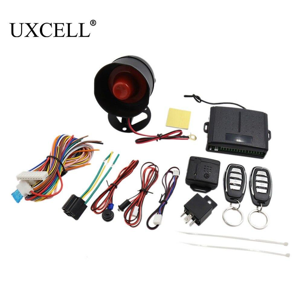 UXCELL Car Alarm Security System Manual Reset Button Function Burglar Alarm Protection