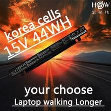 HSW  Battery 15V 44WH for Asus X550C X550B X550V X550a A41-X550A LAptop battery  bateria akku new original genuine new laptop battery b41n1304 for asus vivobook v451l v451la laptop battery b41n1304 14 4v 46w bateria akku