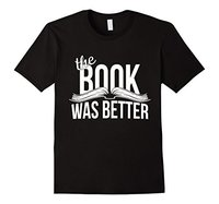 The Book Was Better T Shirt Book Lover Funny Brand Cotton Hipster T Shirt Loose Short