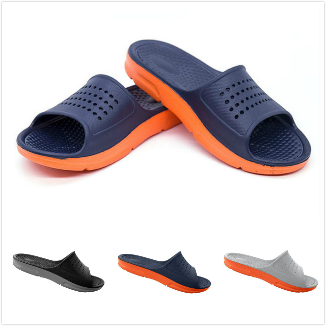 2019 Summer Casual Fashion Men's Flip Flops Beach Sandals Men Outdoor Flat Slippers Outside Non-slip Shoes Sandals