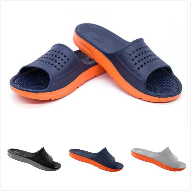 2019 Summer Casual Fashion Men's flip flops Beach Sandals Men outdoor Flat Slippers Outside non-slip Shoes Sandals
