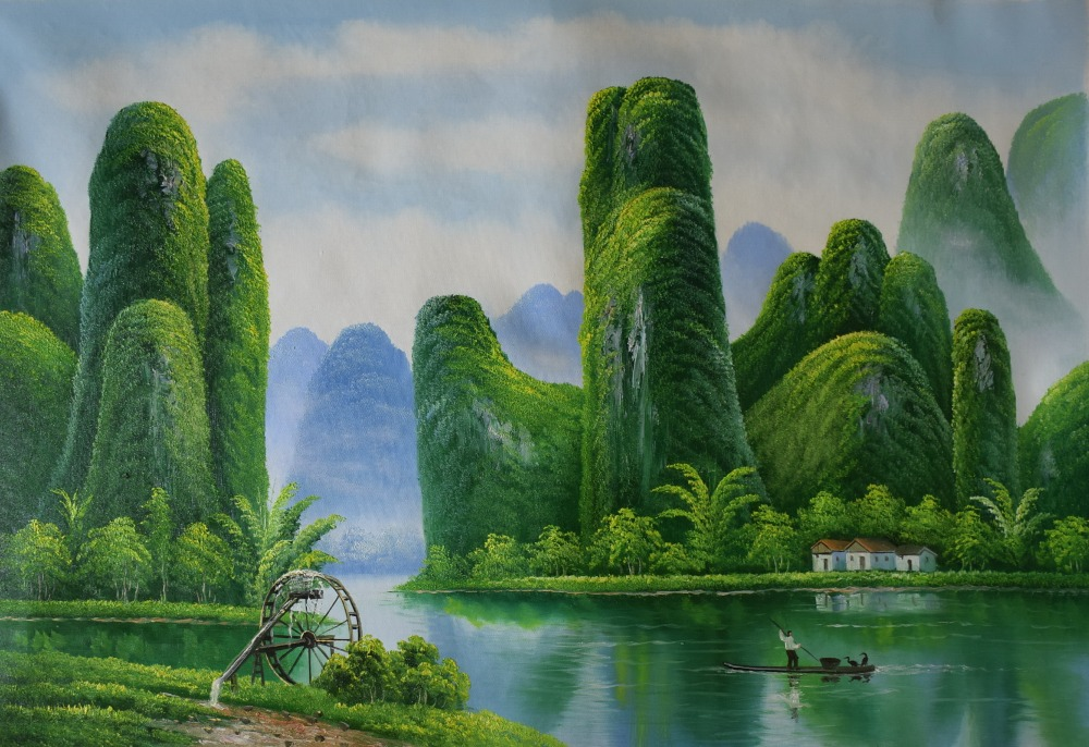 Painting Wall Decoration Asian