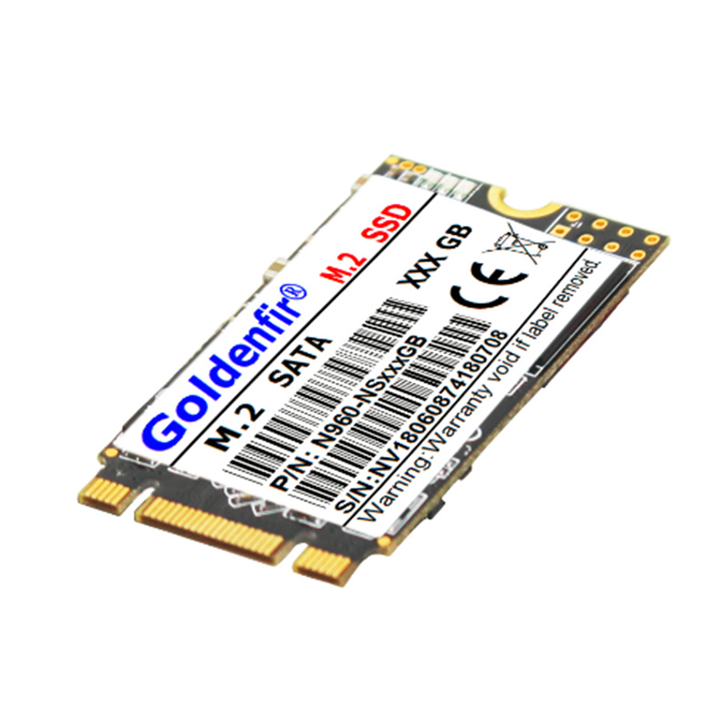 Goldenfir M.2 SSD 2242 M2 SSD 60GB/64GB/120GB/128GB/240GB/256GB/360GB/480GB/512GB M.2 NGFF 22*42mm Solid State stick SSD M2 2242