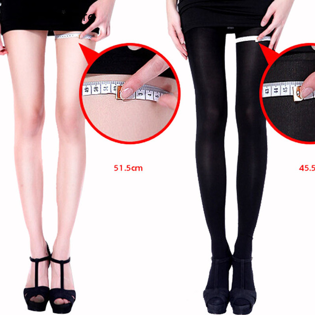 596622ae67e0e9 Kobiety pończochy uciskowe 680 DHigh jakości spodenki wyszczuplające  seksowne spodnie Lycra rajstopy firmy rajstopy odchudzanie nogi