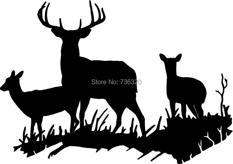 Popular african wall decals buy cheap african wall decals for Deer mural decal