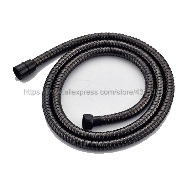 Black Oil Rubbed Brass  Ceramics Telephone Handheld Shower Kits And 1.5M Hose Set Nsx007
