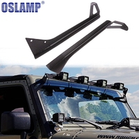 Oslamp Roof Windshield Light Bar Mounts Fit Straight 50inch Led Work Light Mounting Brackets Top For