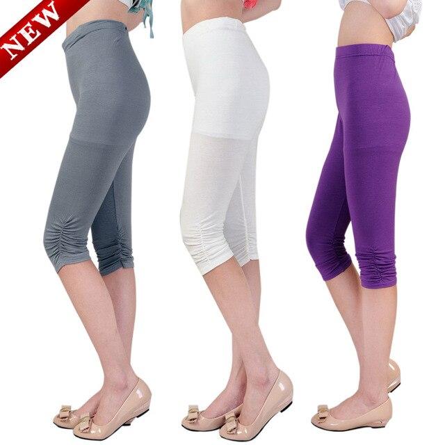 Summer all-match Maternity Pants multicolor Leggings seven pregnant women pregnant women plait Leggings xl5863