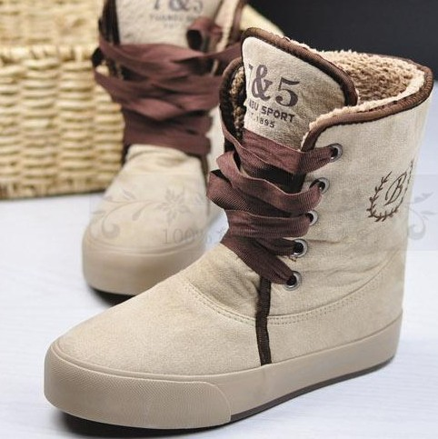 Aliexpress.com : Buy New 2016 Fashion High Top Women Snow boots ...