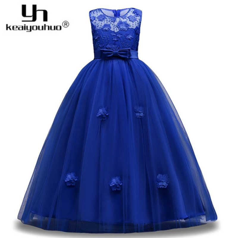 2622295f088 2019 Пасха девушка одежда цветочные свадебные платье принцессы Детские  платья для Праздничное платье для девочек элегантные