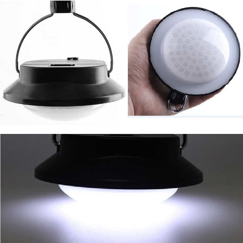 New 60 LED 3 Modes Portable Outdoor Indoor Camping Lantern Tent Light  Campsite Hanging Lamp For