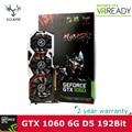Colorful iGame NVIDIA GeForce GTX 1060 GPU 6 ГБ GDDR5 192bit PCI-E X16 3.0 VR Готовые Игры Видео Видеокарта DVI + HDMI + 3 * DP порт