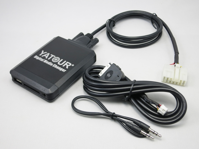 Yatour YT-M07 for iPod iPhone USB SD AUX All-in-one Digital Media Changer For Toyota Big 5+7 Lexus Scion 1998-2005 Audio MP3 lexus gs300 toyota aristo 1997 2005 бензин пособие по ремонту и эксплуатации 978 5 88850 533 5