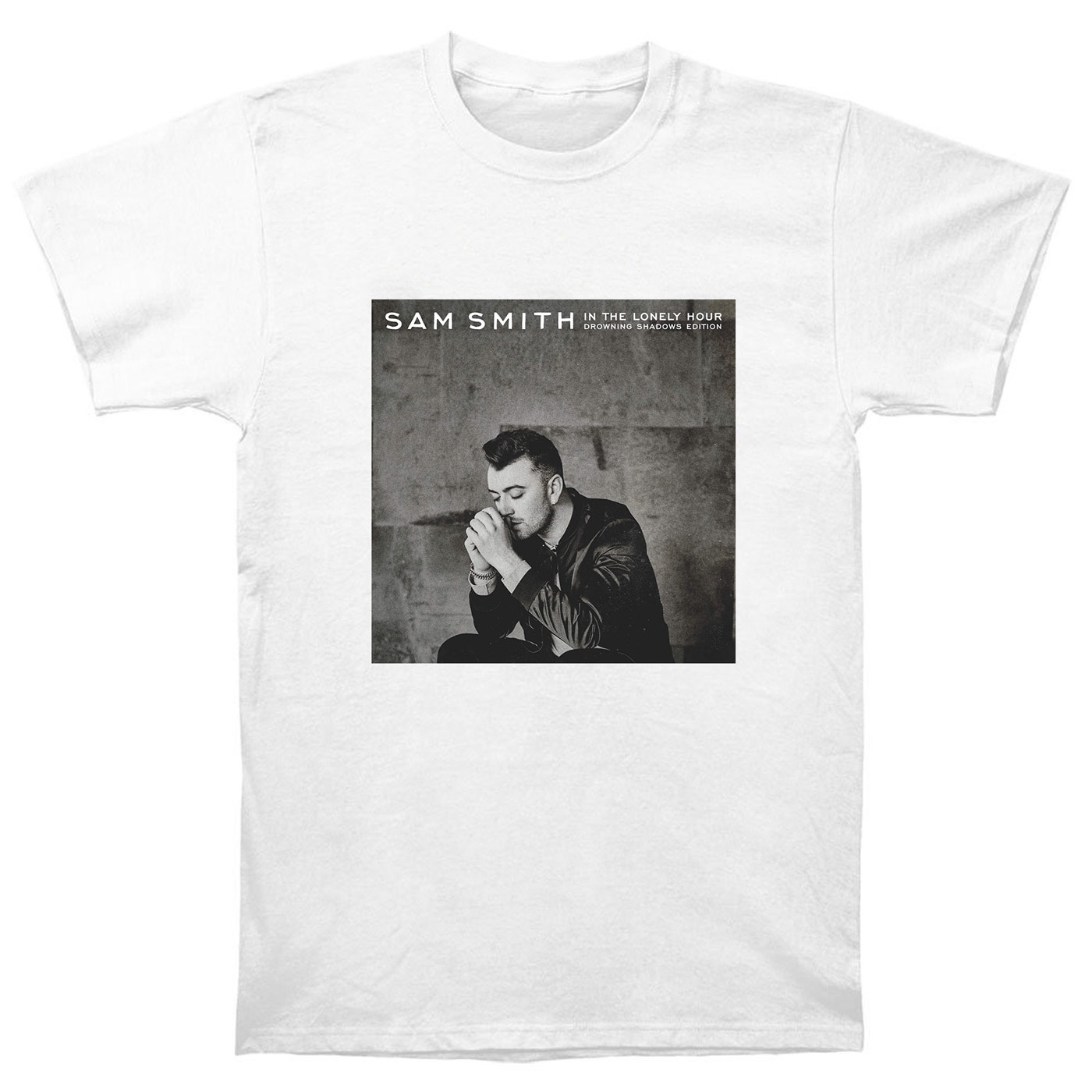 Sam Smith T Shirt Cd In The Lonely Hour Vinyl Poster Drowning Shadows Edition ST2