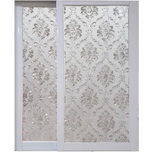 Electrostatic privacy Window Film 3D glass sticker Crystal horseskin Frosted Opaque stained office Home Decorative film 45*200cm