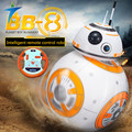 Star Wars 7 PVC RC BB-8 Robot Star Wars 2.4G remote control BB8 robot intelligent small ball Action Figure Toys Christmas Gift