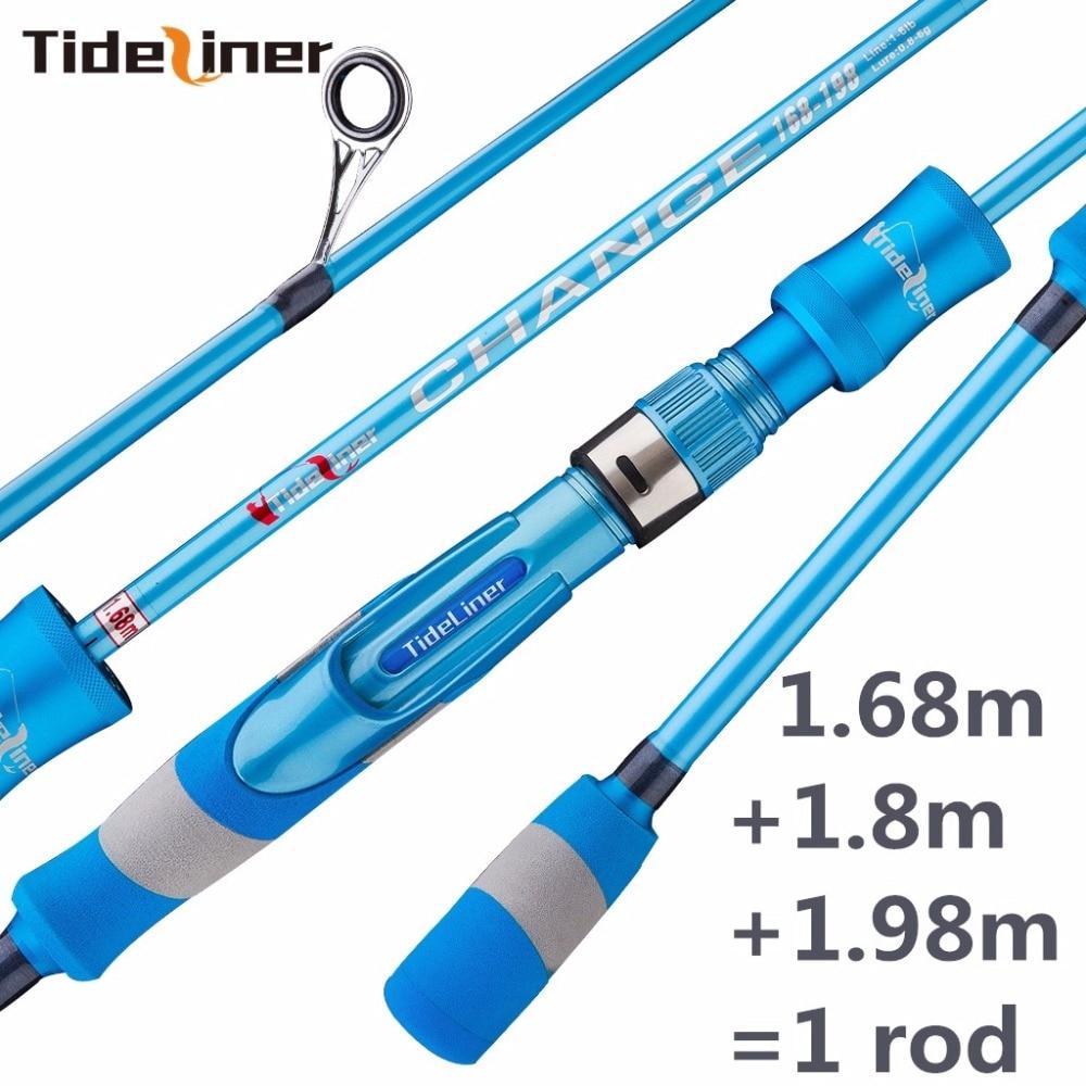 adjustable 1 68m 1 8m 1 98m UL spinning fishing rod telescopic ultralight spinner quality carbon
