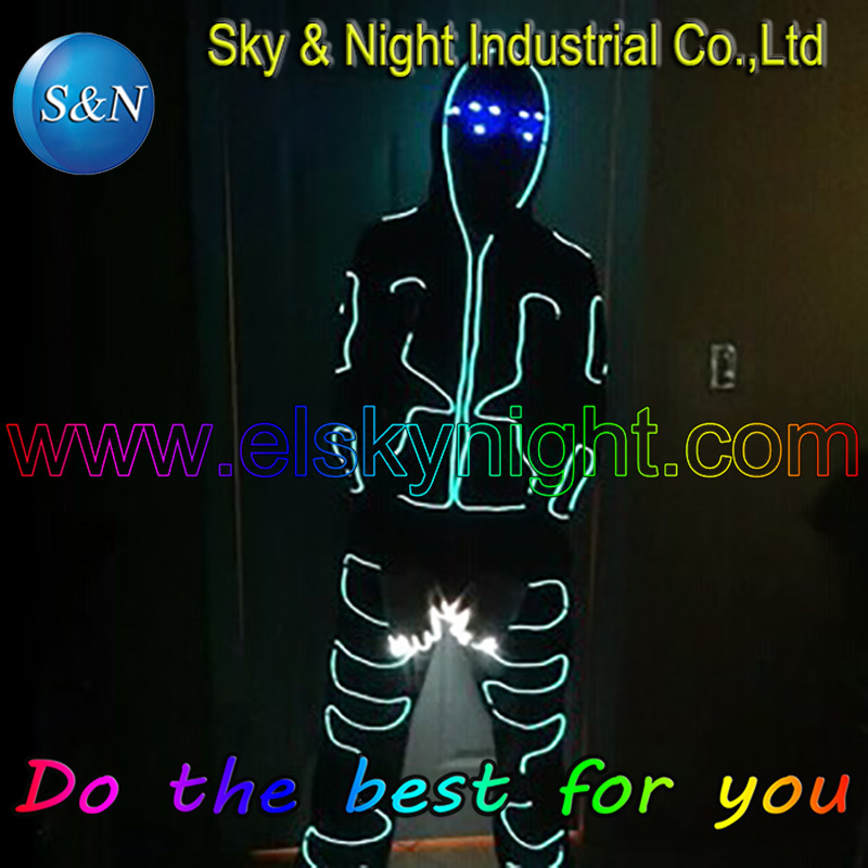 Glow Party Supplies Useful Diy-el Wire/neon Light/el Cable/electroluminescent Costume Easy To Control Light And Dispeared Festive & Party Supplies