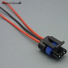 shhworldsea 5/10/100pcs 3 pin 1 5mm auto sensor waterproof female connector  wiring