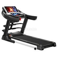 S600 5 дюймов дисплей экран электрическая складная Мини беговая дорожка сидячая функция Регулировка градиента немой крытый фитнес-оборудование