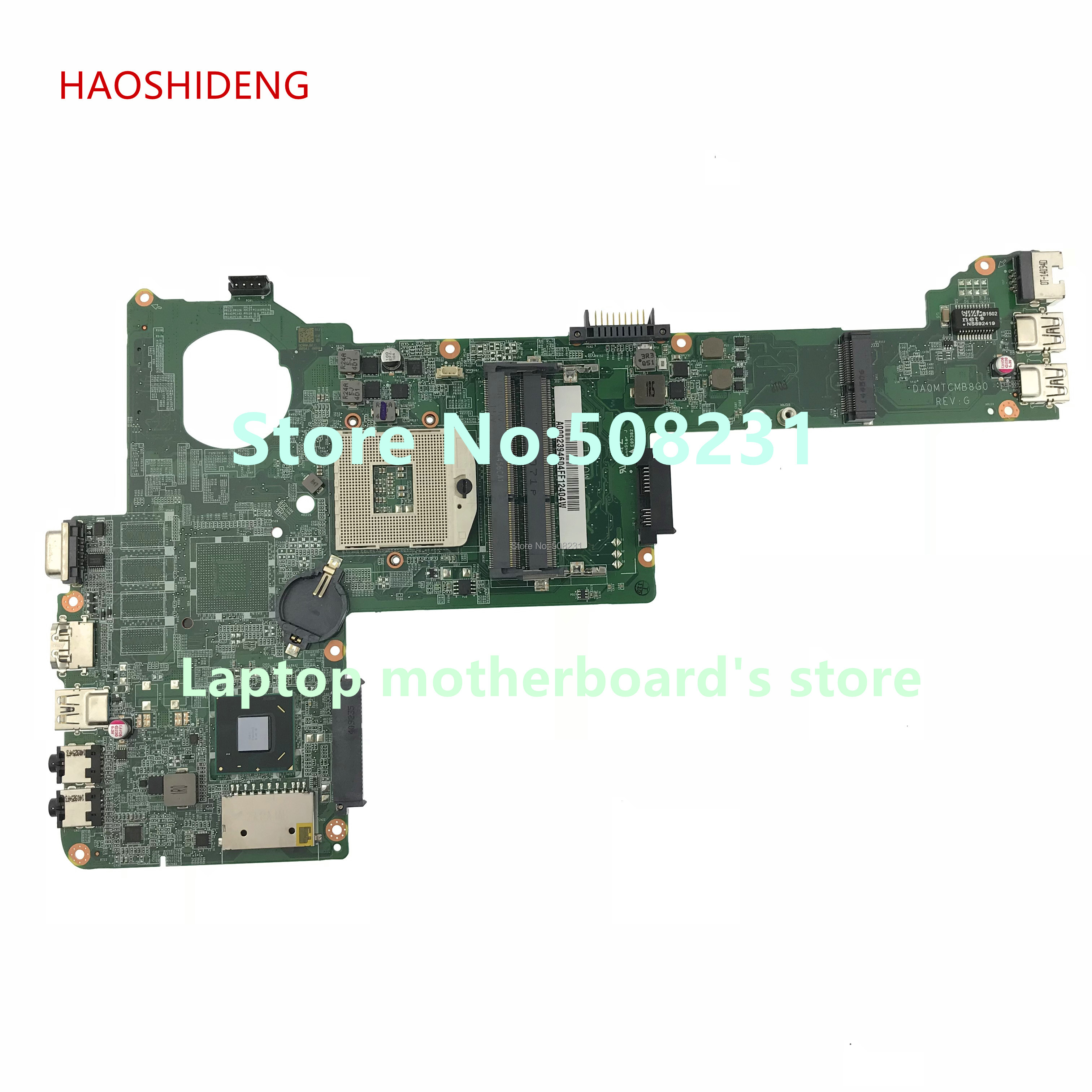 HAOSHIDENG A000239460 DA0MTCMB8G0 REV:G mainboard For Toshiba Satellite C40 C40-A Laptop Motherboard All functions fully Tested