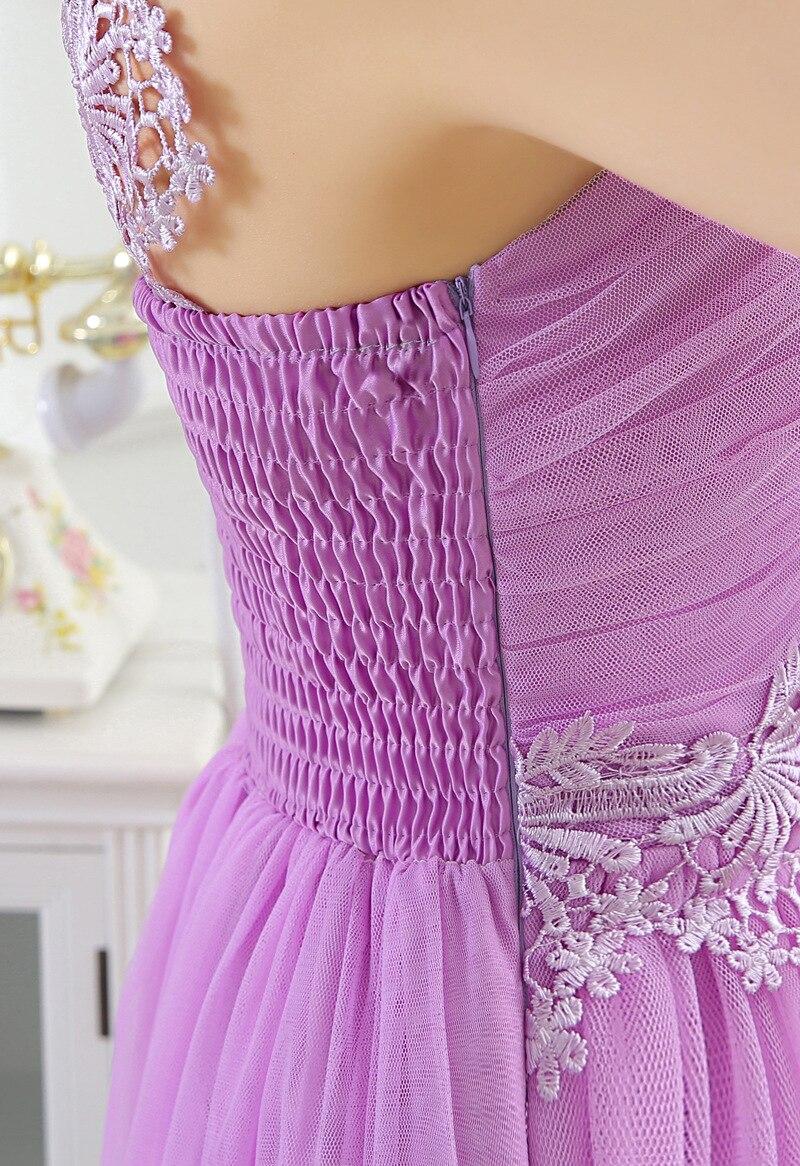 Vestido formal del partido de dama de honor vestidos cortos para ...