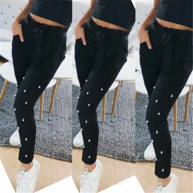 710eab5df0326 ... Ladies women s wear High Waist Leggings Full Length Seamless Slimming  Shapewear Leggy pure color Embroidered Flares