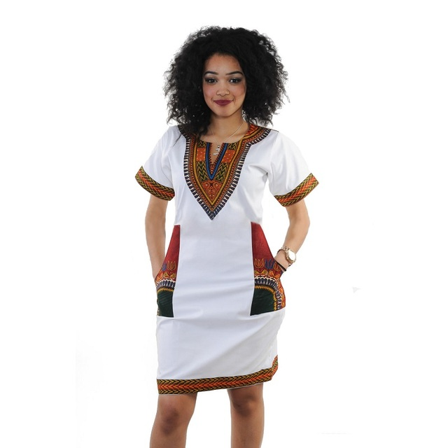 99ac002392c Adogirl Summer Mini Dress African Traditional Print Fitted Plus Size 3XL  Folk Custom For Women Sexy Bodycon Vintage Dresses
