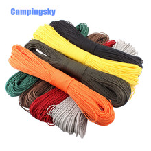 Dia. 2mm one stand Cores Paracord for Survival Parachute Cord Lanyard Camping Climbing Camping Rope Hiking