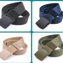 Hot sale Men /women belt High Quality Automatic Buckle Nylon