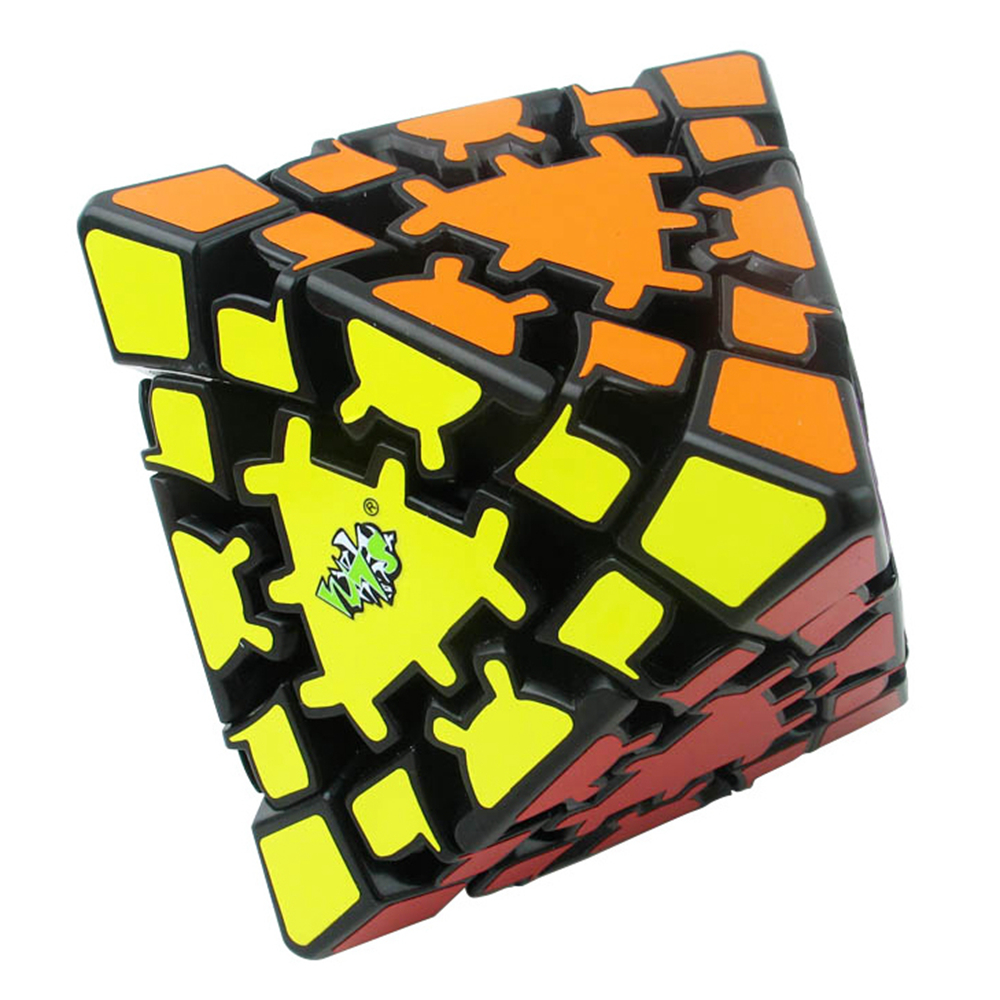 Lanlan 8-Axis Octahedron Gear Magic Cube Speed Puzzle Game Cubes Educational Toys For Children Kids