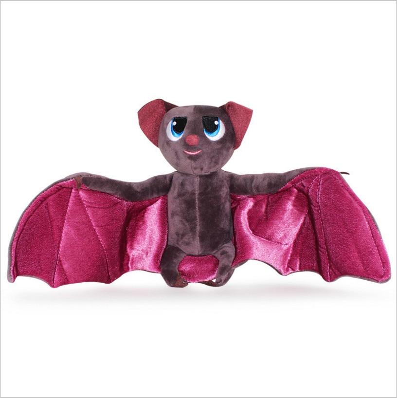 Hot 40cm Bat Super Soft Plush Doll Toys Batman Toys Stuffed Animals Christmas Birthday Presents For Children Kids Gift new hot 33cm dragon ball buu plush toys soft stuffed doll christmas gift