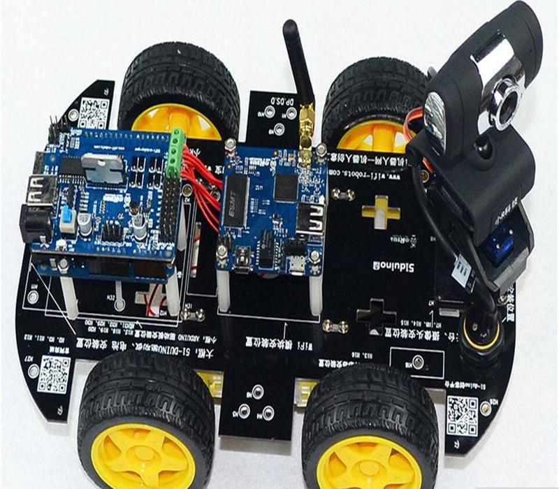 Wifi ios inteligente robot car kit para arduino robot coche de wifi ios inteligente robot car kit para arduino robot coche de control remoto inalmbrico de vdeo android pc de vdeo vigilancia en electrnica de malvernweather Choice Image