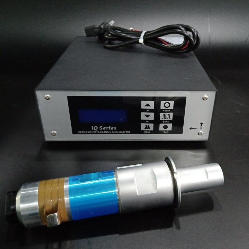 2000 Вт/20 кГц Ультразвуковой сварочный генератор цена с сварочный преобразователь для сварки пластиковые машины