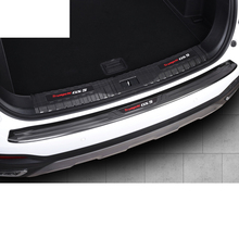 Lsrtw2017 Stainless Steel Car Trunk Trim Rear Guard Threshold for Trumpchi Gs5 2012-2020 2013 2014 2015 2016 2017 2018 2019 2020 lsrtw2017 abs car front grill decorative mark circle for trumpchi gs5 2012 2013 2014 2015 2016 2017 2018 2019 2020