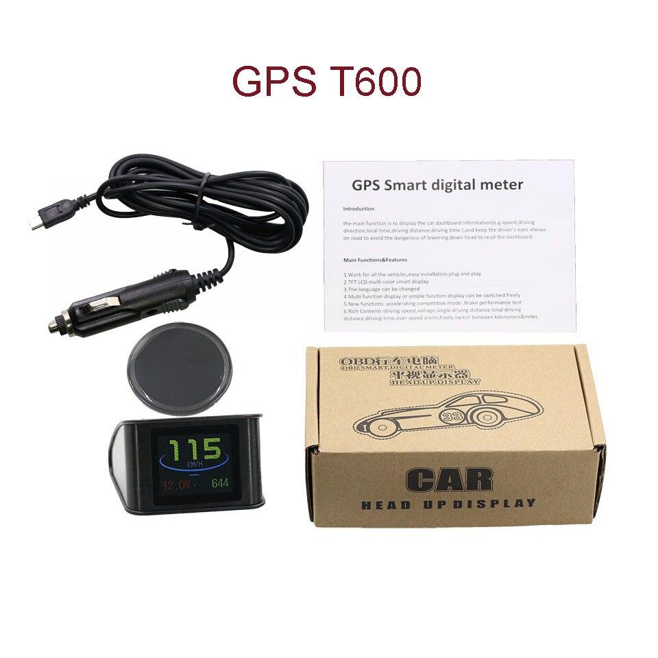 VJOYCAR Hud GPS OBD Computer Car Speed Projector Digital Speedometer ...