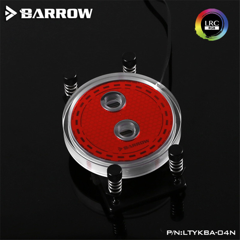 Barrow For AMD AM4 Platform Jet Type Microchannel CPU Water Cooling Head Rays Edition CPU Water